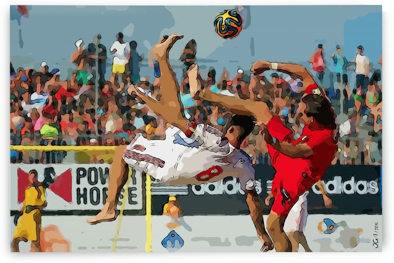 Beach football_09 by Watch & enjoy-JG