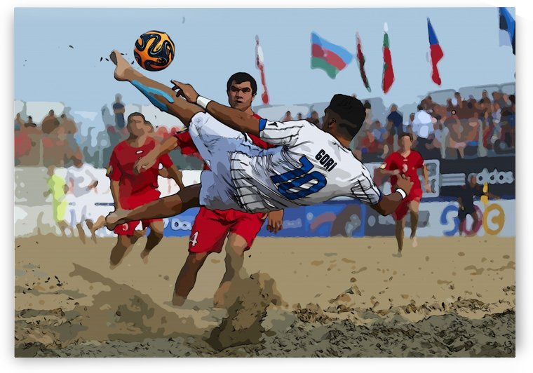 Beach football_12 by Watch & enjoy-JG