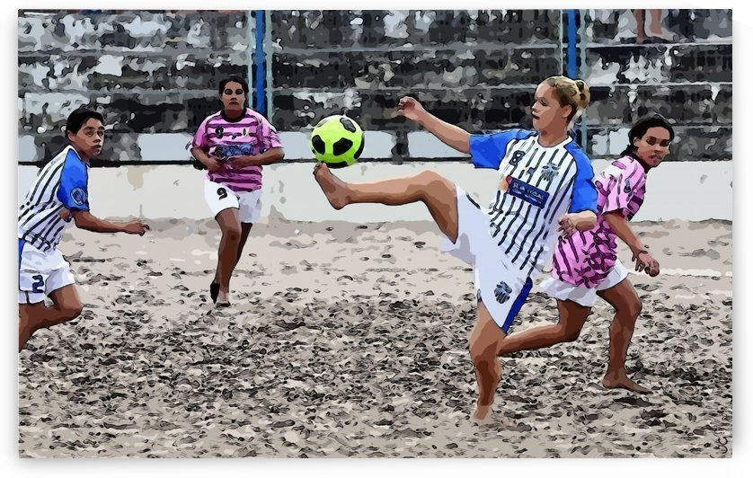 Beach football_13 by Watch & enjoy-JG