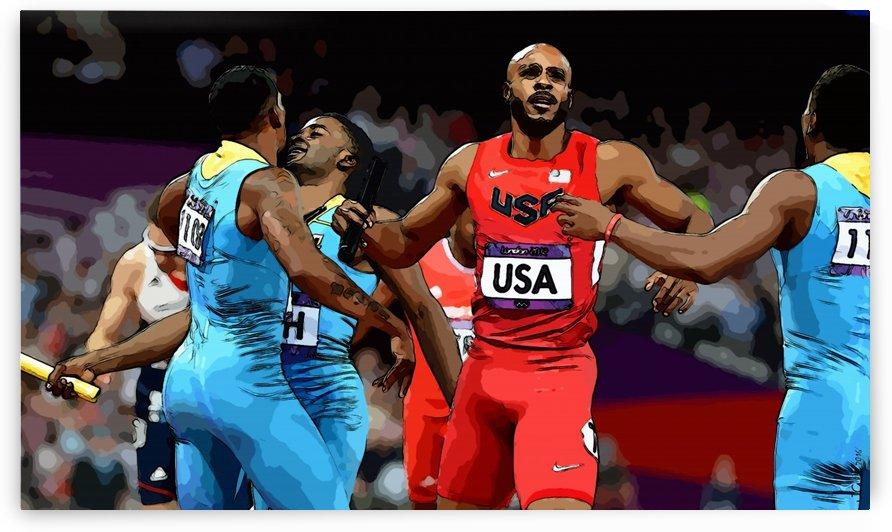 Athletics_43 by Watch & enjoy-JG