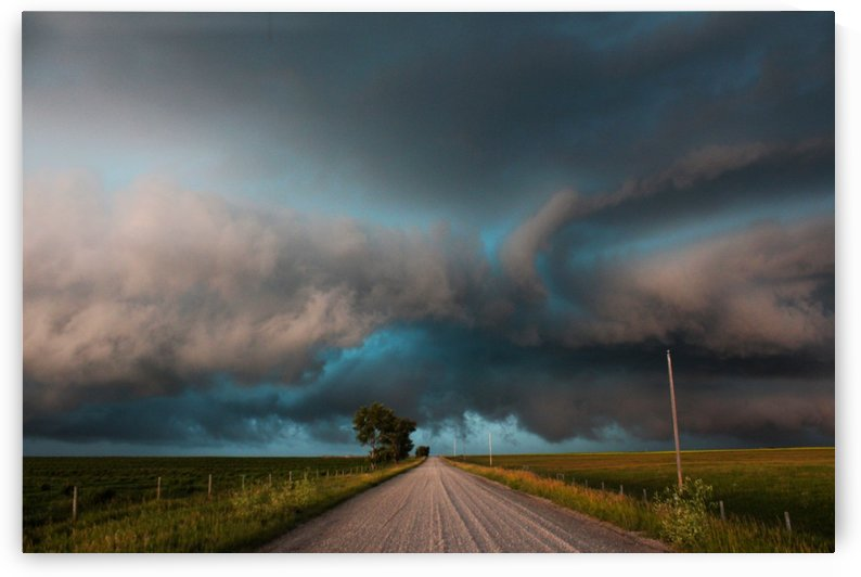 Not driving down this road today but thanks anyway by Jody Majko