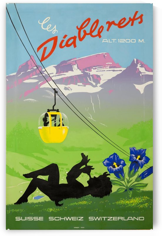 Diablerets Swiss Travel Poster.jpg by VINTAGE POSTER