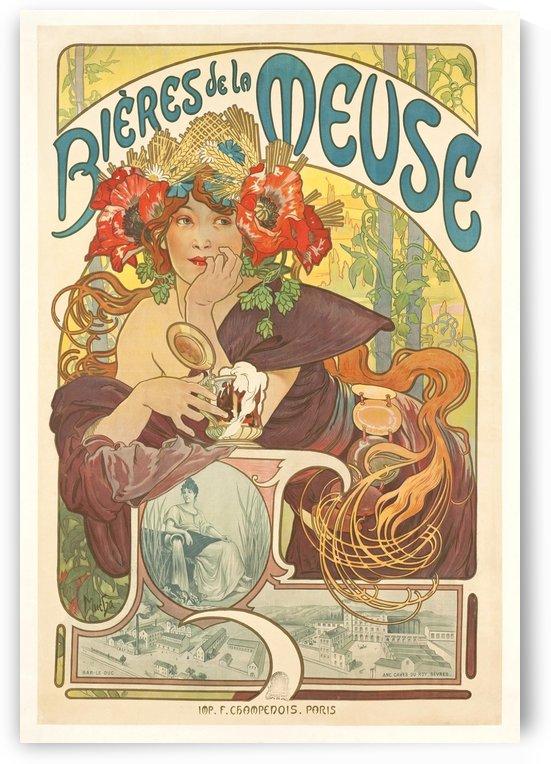 Bierre de la Meuse poster by VINTAGE POSTER