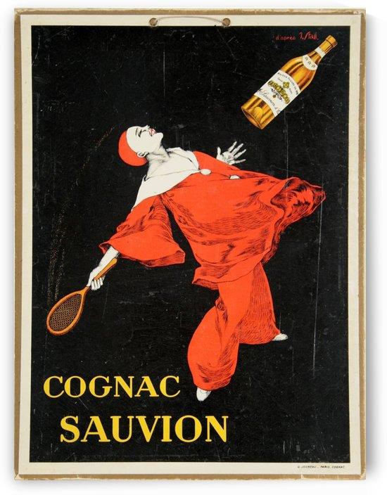 Cognac Sauvion Carton vintage poster by VINTAGE POSTER