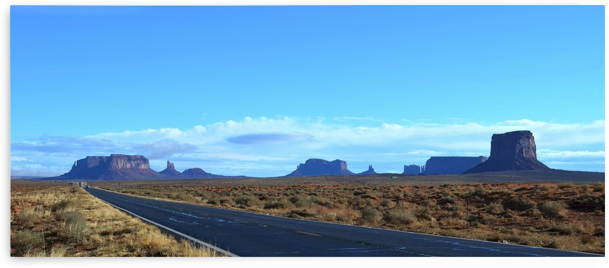 Road to Monument Valley by BK