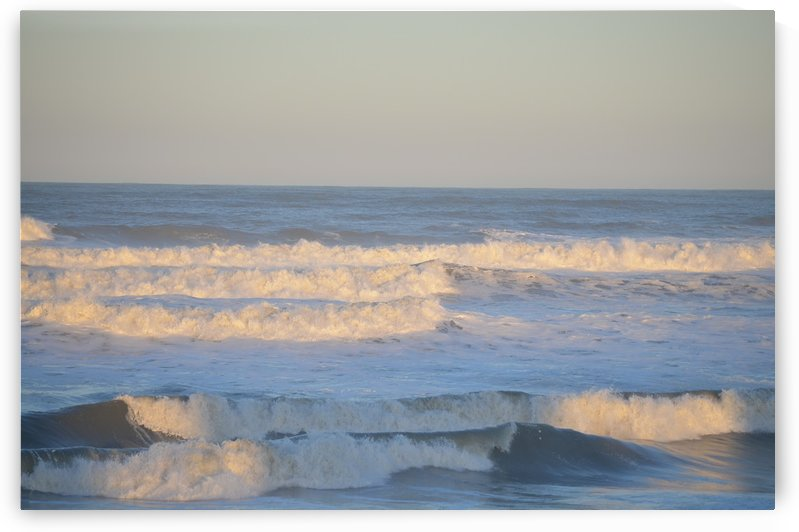 Late afternoon waves by BK