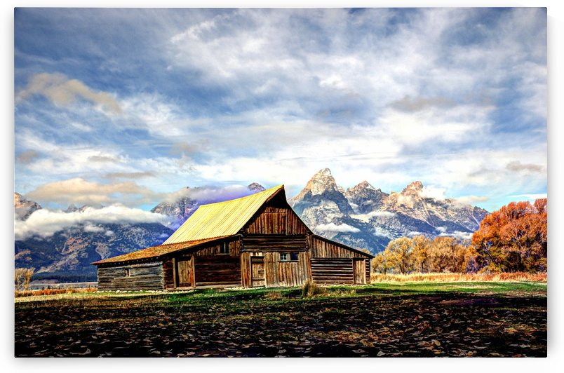 Mormon Row   Jackson Hole by Dennis Blum