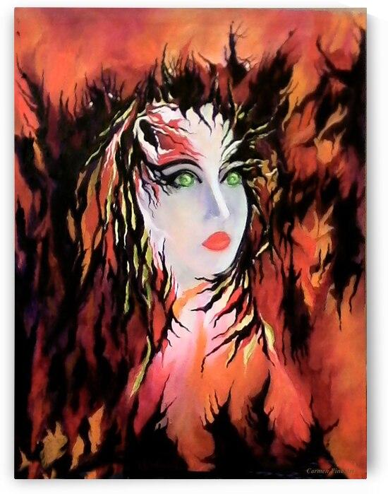Lonely Angel of God by Carmen Fine Art