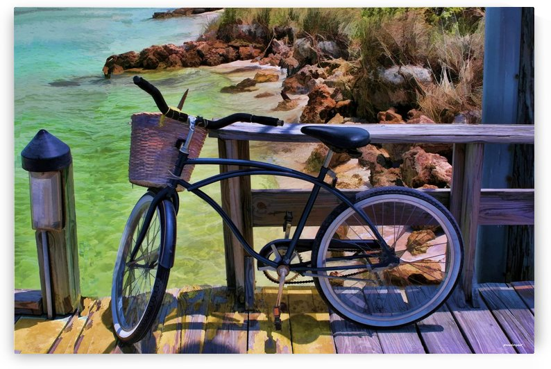 beach  bike  by tom Prendergast