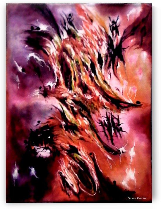Manifesto of Cosmic Significance by Carmen Fine Art