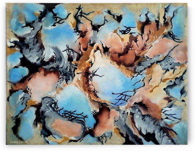 Degenerated Manifesto of Vanishing Sky by Carmen Fine Art