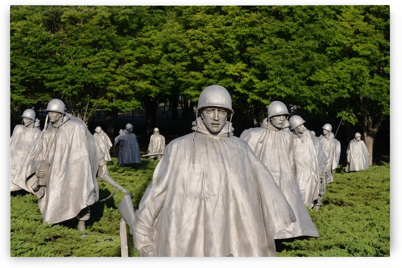 Korean War Memorial by BK