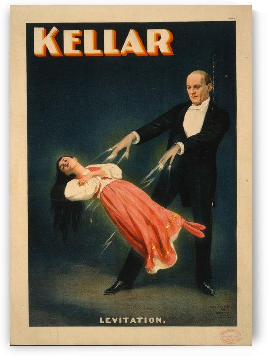 Kellar levitation poster by VINTAGE POSTER