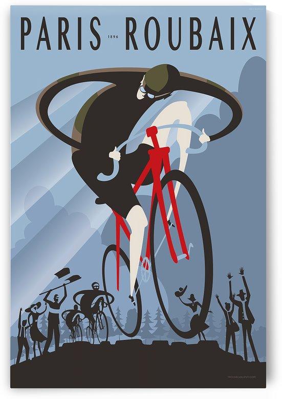 Paris-Roubaix 1896 vintage poster by VINTAGE POSTER