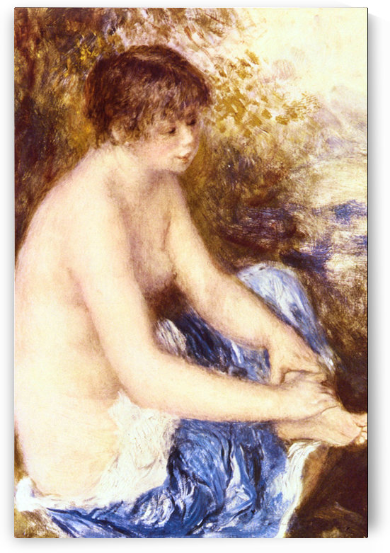Little Nude in Blue by Renoir by Renoir
