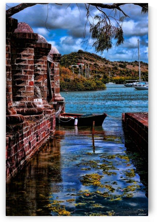 nelsons dockyard antigua by tom Prendergast