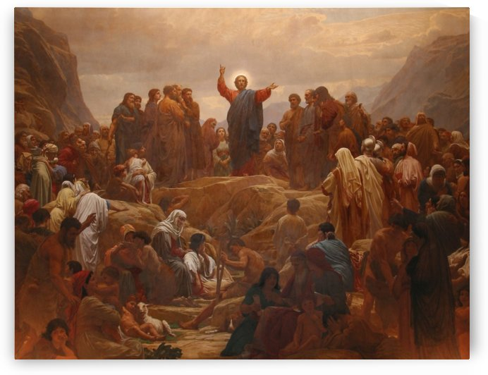 Sermon on the Mount by Henrik Olrik
