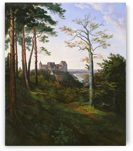 Colditz Castle by Ernst Ferdinand Oehme