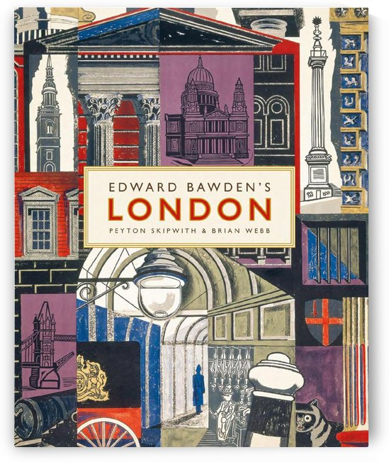 Edward Bawden's London vintage poster by VINTAGE POSTER