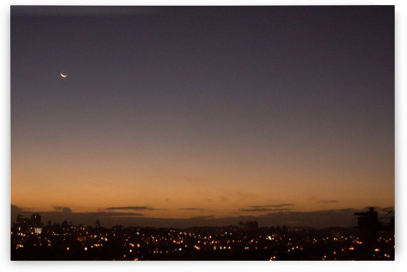The moon  by Luis Augusto Henriquez