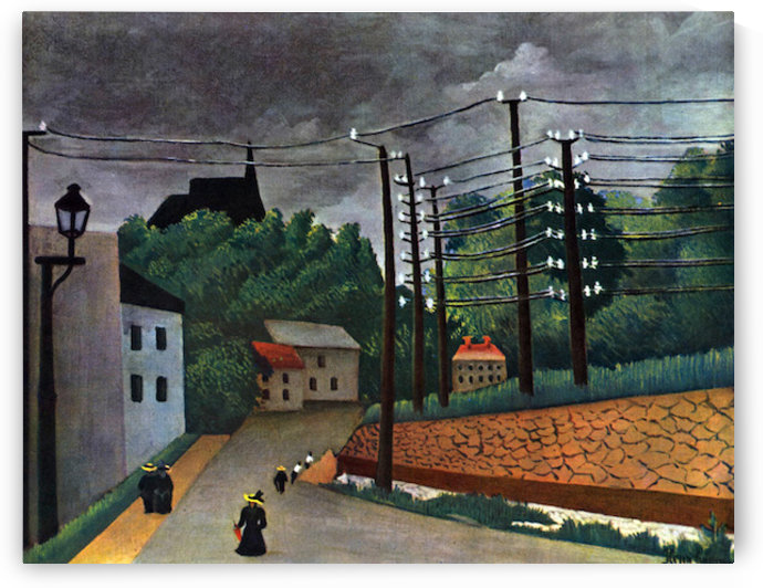 Malakoff by Henri Rousseau by Henri Rousseau