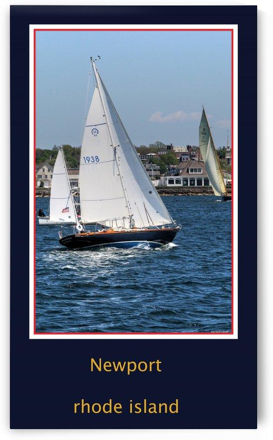Sailing Newport RI by tom Prendergast