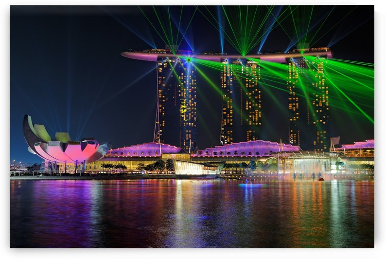 Marina Bay Sands Lasershow by 1x