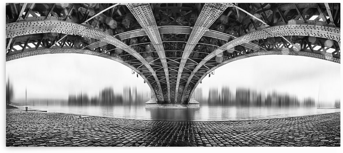 Under The Iron Bridge by 1x