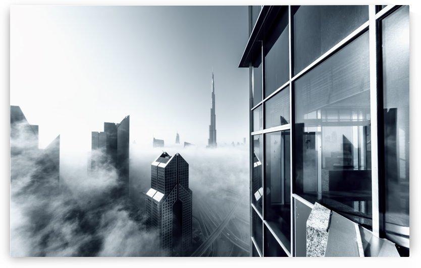 Foggy City by 1x