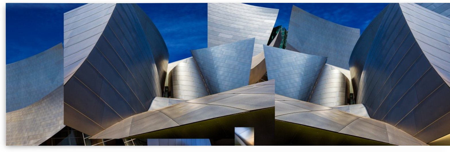 Disney Concert Hall-Montage (Color Version) by 1x