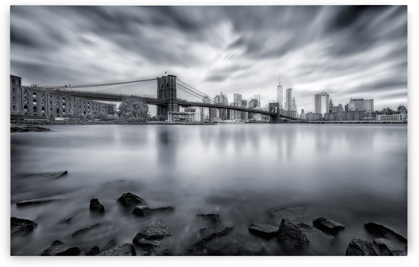 Brooklyn Bridge by 1x