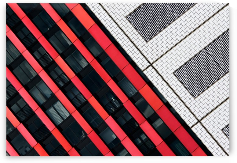 Red diagonals. by 1x