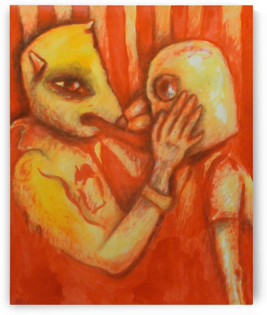 Lovers II by Mikki KV Nylund