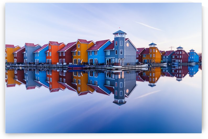 Colored homes by 1x