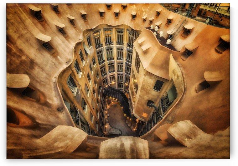 Casa MilA, La Pedrera, Barcelona. by 1x