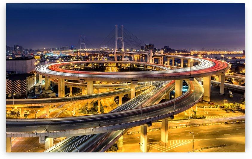 Nanpu Bridge by 1x