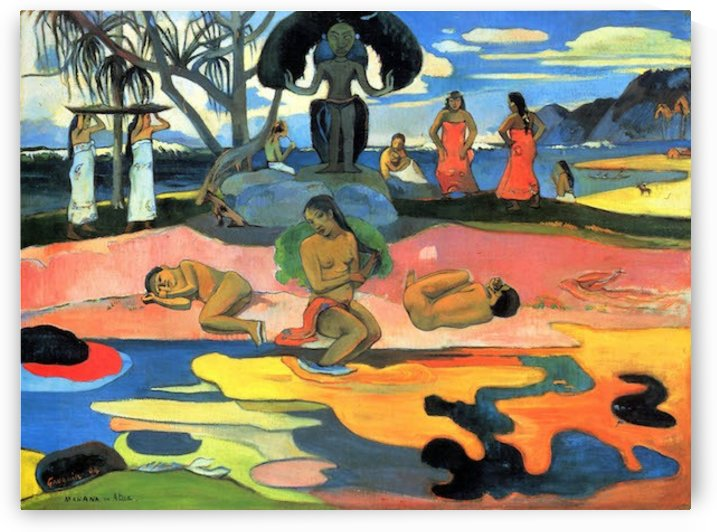 Mohana no Atua by Gauguin by Gauguin