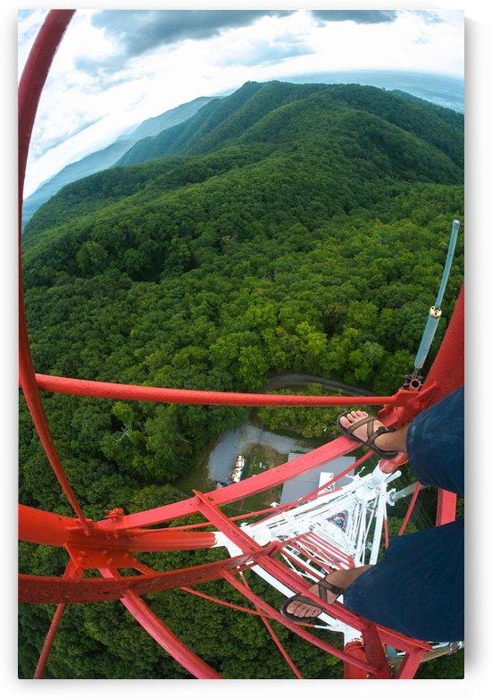Buffalo Mt. Firetower by Forrest Blais