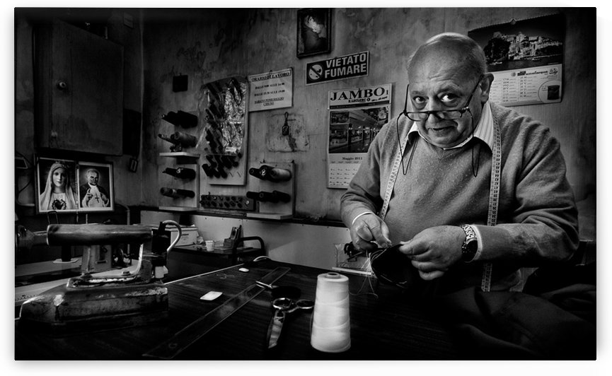Mr. Giovanni, the tailor. by 1x