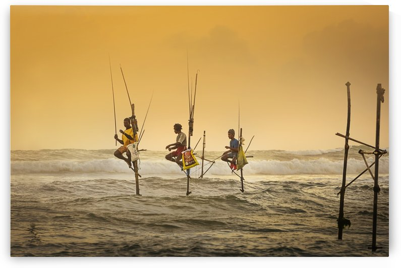 Traditional Fishing by 1x