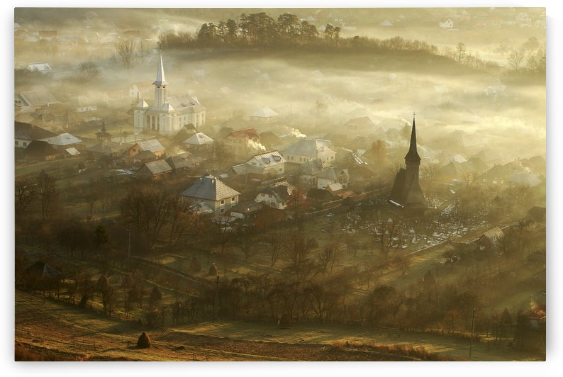 the village born from fog... by 1x