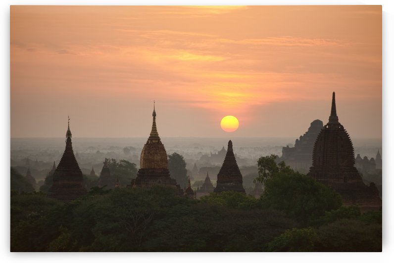 Sunrise Bagan II by 1x