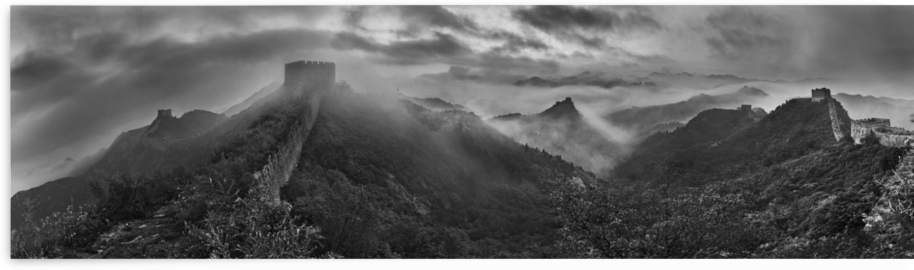 Misty Morning at Great Wall by 1x