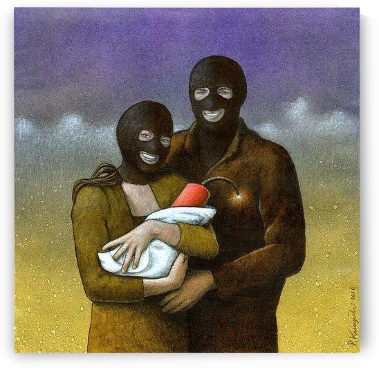 Family by Pawel Kuczynski