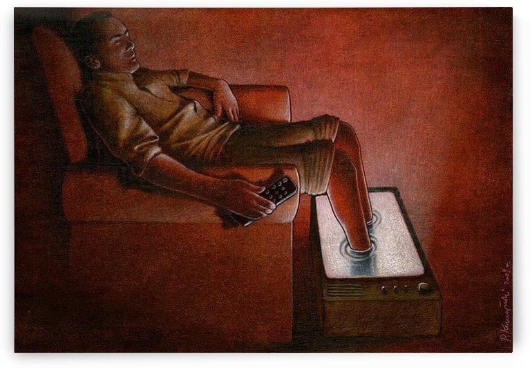TV Relax by Pawel Kuczynski