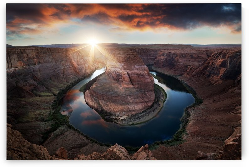 Horseshoe Bend by 1x