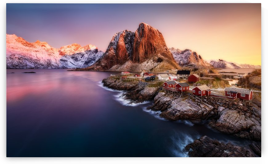 Hamnoy Sunrise by 1x