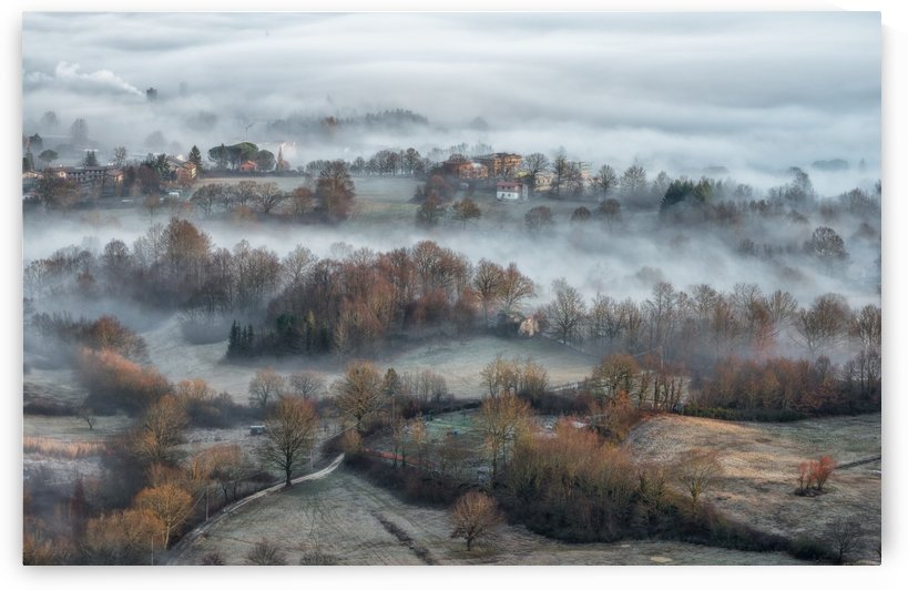 misty fields by 1x