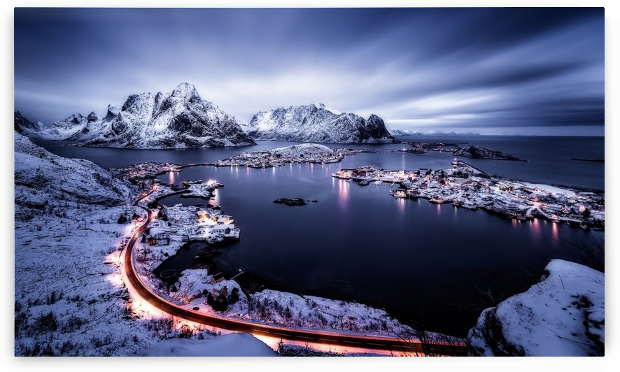 Reine Blue Hour by 1x