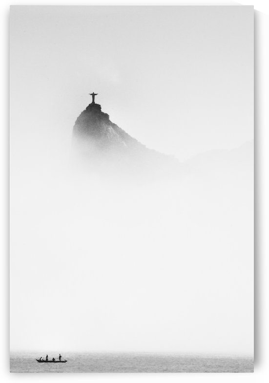 Cristo in the mist by 1x